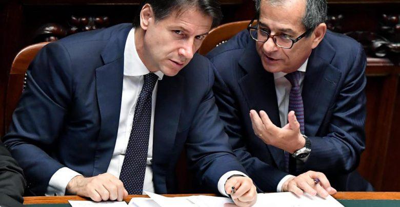 Giuseppe Conte e Giovanni Tria