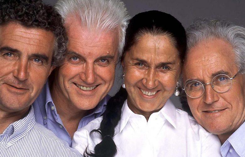 Carlo, Gilberto, Giuliana e Luciano Benetton
