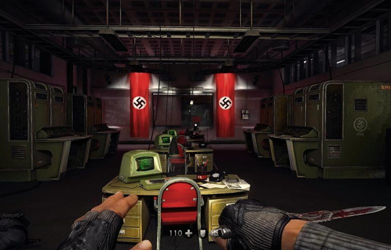 Wolfenstein, simboli nazisti nei videogiochi