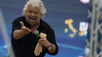 Beppe Grillo al Circo Massimo