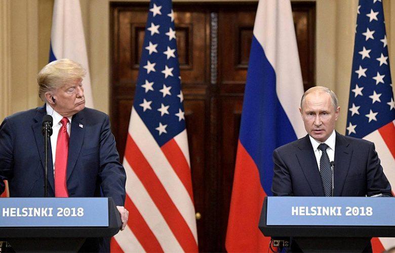 Donald Trump con Vladimir Putin