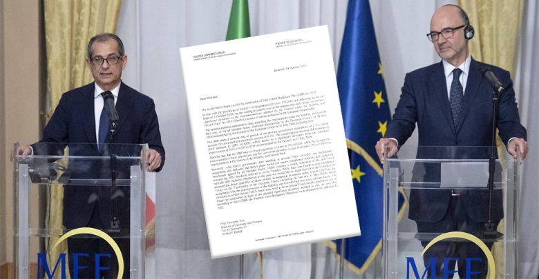 Photo of «Deviazione senza precedenti nella storia»: la lettera dell'Ue che boccia l'Italia