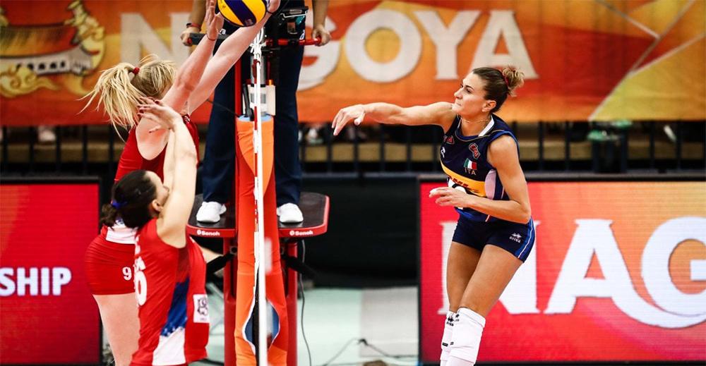 Itali Serbia mondiale volley femminile