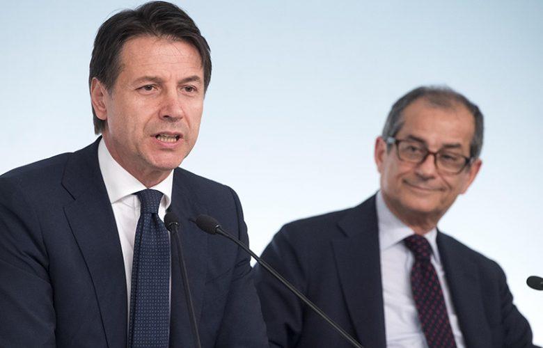 Manovra economica Giuseppe Conte e Giovanni Tria