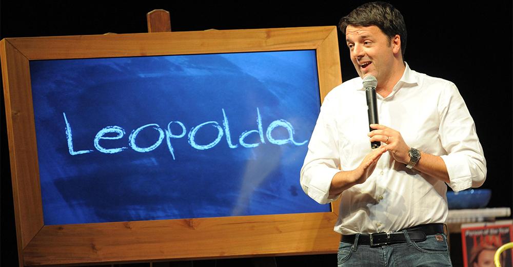 Renzi, Leopolda non è un partito ma spazio libertà
