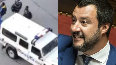 Photo of «Altri migranti scaricati in Italia dalla polizia francese»: la rabbia di Salvini