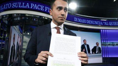 Pace fiscale Di Maio testo manovra manipolato