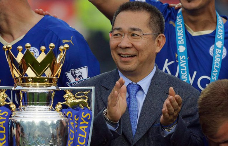 Vichai Srivaddhanaprabha presidente Leicester