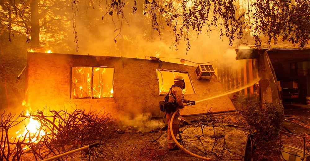 Incendi California