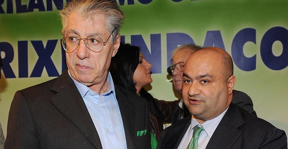Lega Umberto Bossi e Francesco Belsito