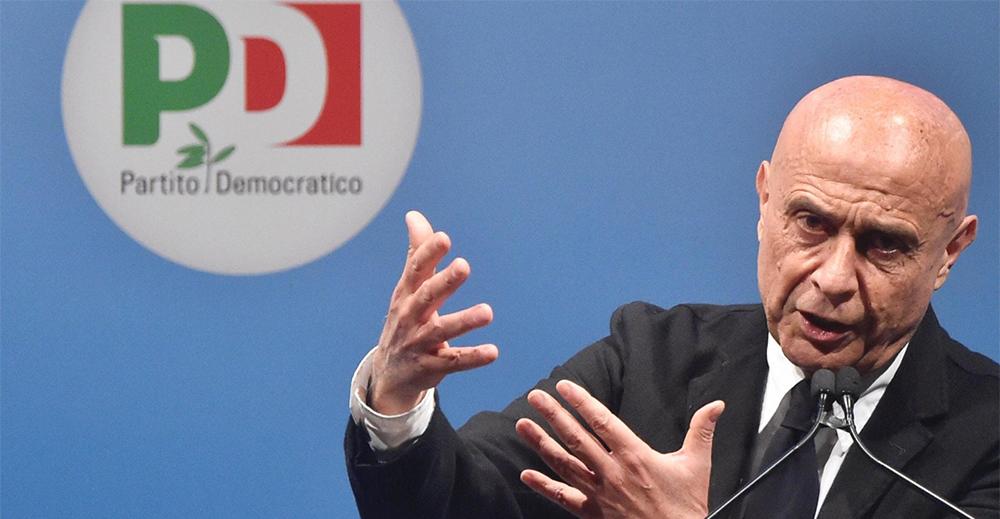 Marco Minniti candidato segretario del Pd