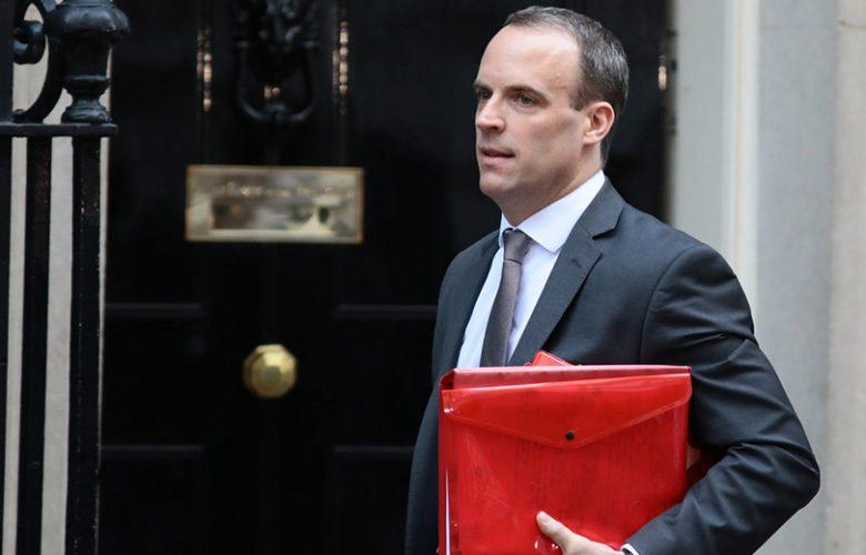 Ministro della Brexit Dominic Raab