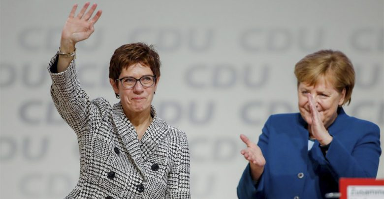 Photo of Annegret Kramp-Karrenbauer è l'erede della Merkel alla guida della Cdu