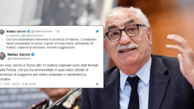 Photo of Quel tweet di Salvini che anticipa un blitz delle forze dell'ordine