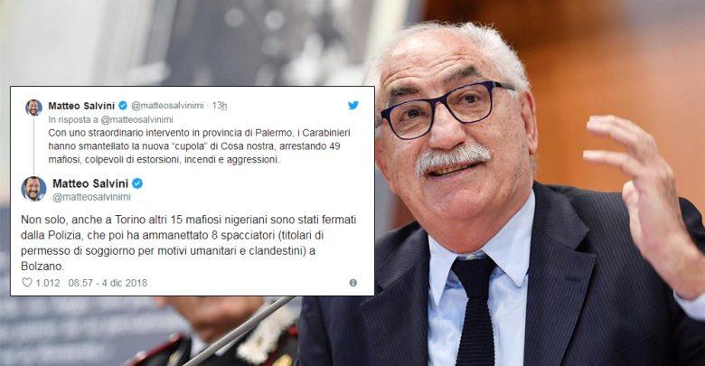 Armando Spataro contro Matteo Salvini