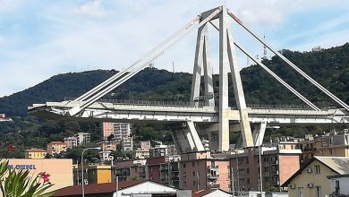 Photo of Ponte Morandi, al via la demolizione dei resti