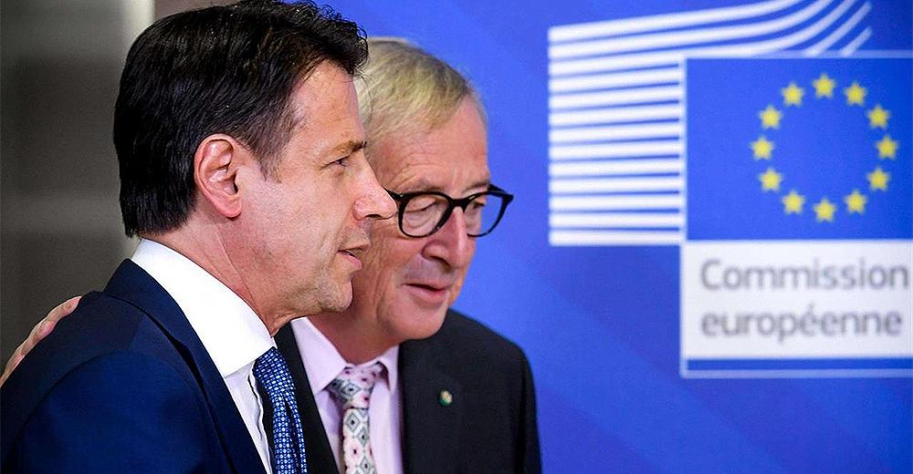 Juncker Conte incontro a Bruxelles