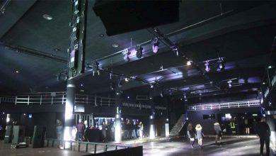 L'interno della discoteca di Corinaldo Lanterna Azzurra