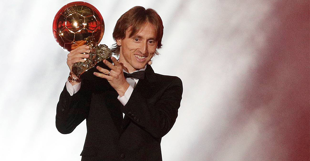 Luka Modric Pallone d'Oro