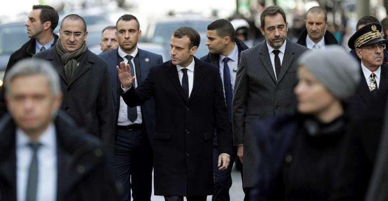 Protesta Gilet Gialli Macron