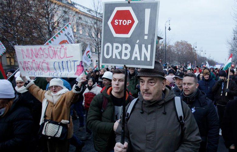 Proteste Ungheria