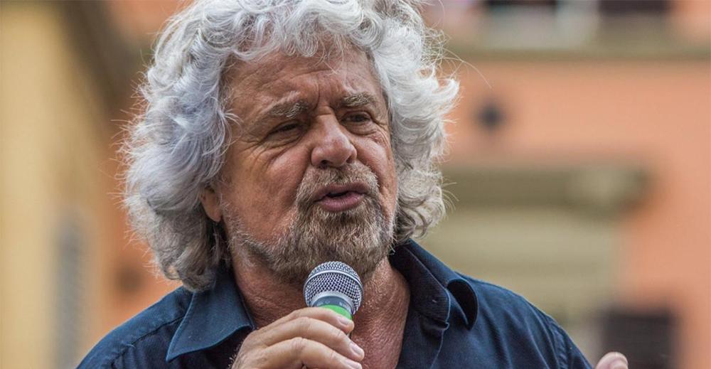 Beppe Grillo quando era novax