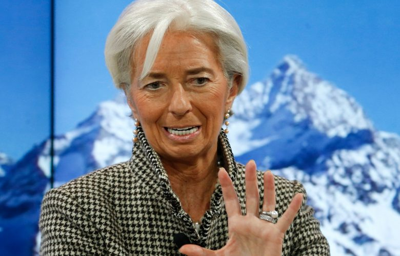 Christine Lagarde a Davos