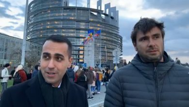 Di Maio e Di Battista le due sedi del parlamento europeo