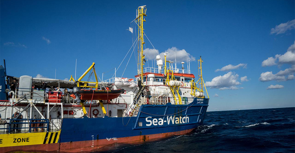 Sea Watch 3 e Sea Eye Malta sfida Italia