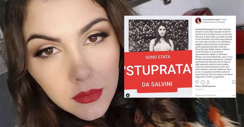 Valentina Nappi Instagram Salvini