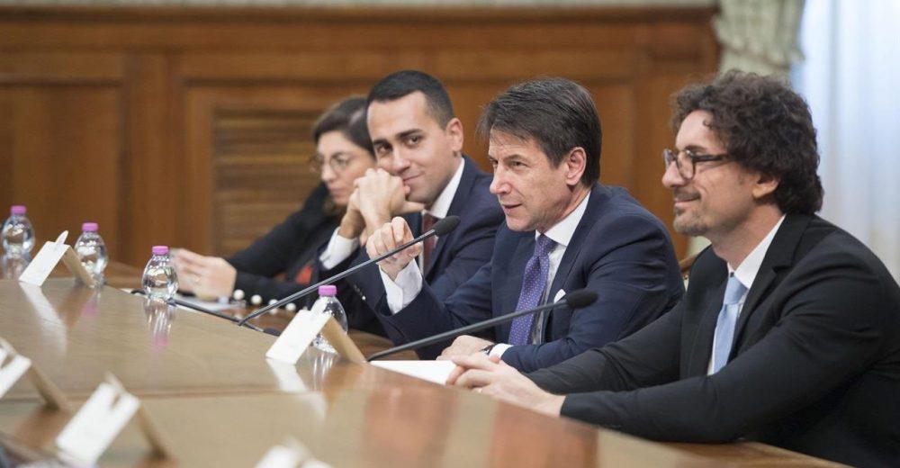 Di Maio Conte Toninelli