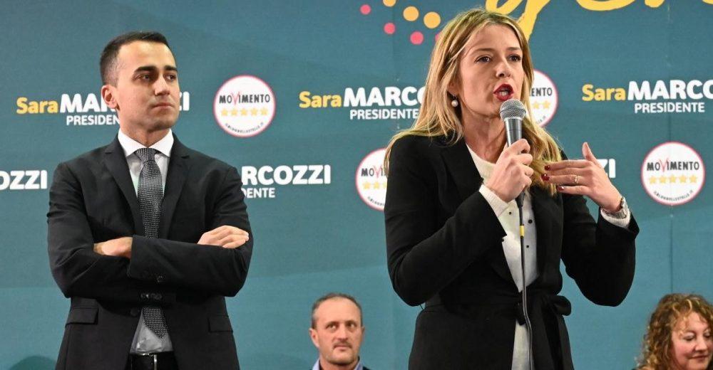 Sara Marcozzi Luigi Di Maio