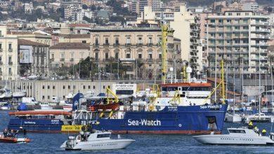 Sea Watch nel porto di Catania