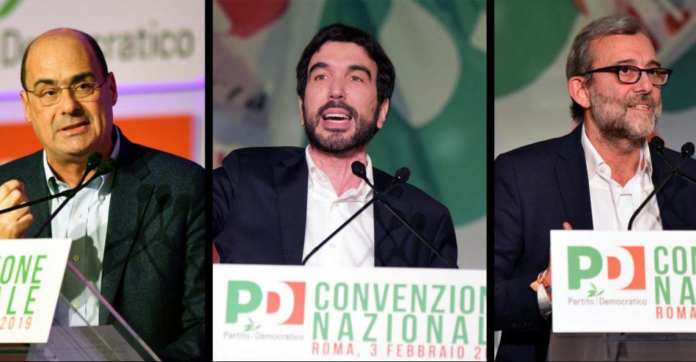 Zingaretti Martina Giachetti