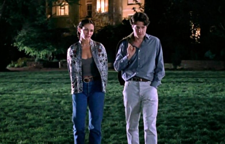 Hugh Grant e Julia Roberts in Notting Hill
