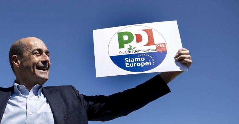 Photo of Europee, Zingaretti presenta il nuovo simbolo del Pd