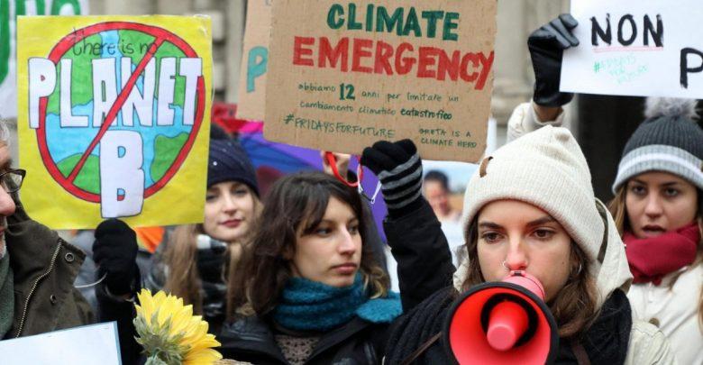 Protesta clima