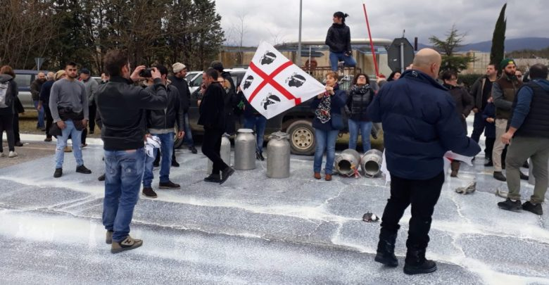Proteste pastori sardi