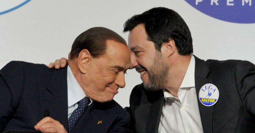 Silvio Berlusconi Matteo Salvini