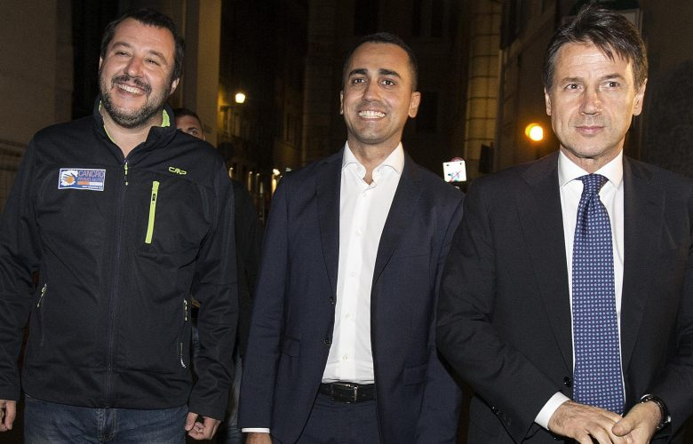 Salvini Di Maio Conte