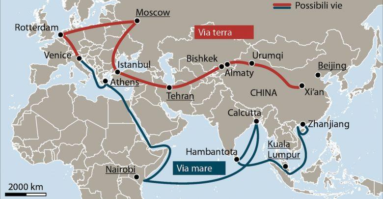 Photo of Via della seta: la Cina sempre più vicina tra insidie, minacce e scontri