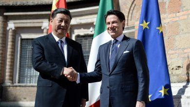 Xi Jinping Giuseppe Conte