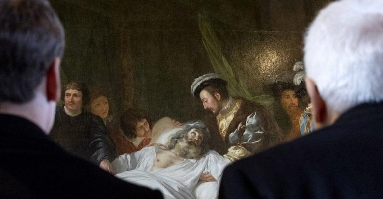 Photo of Mattarella e Macron sulla tomba di Leonardo