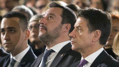 Photo of Conte, Salvini e Di Maio uniti contro l'Ue: «Sì al dialogo, no a una manovra correttiva»