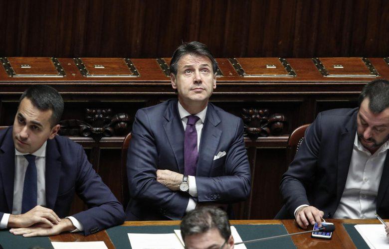 Di Maio Conte Salvini