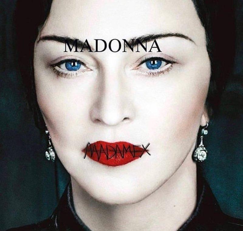 La copertina di Madame X