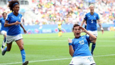 Mondiali di calcio femminile, l'Italia batte la Giamaica 5 a 0 e vola agli ottavi