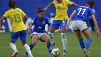 Mondiali di calcio femminile, Italia battuta dal Brasile ma è prima del girone