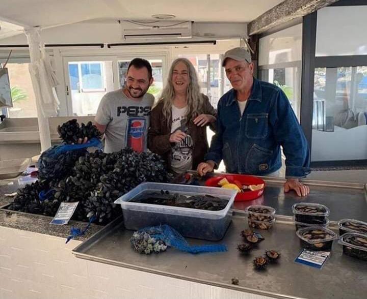 Patti smith al mercato del pesce