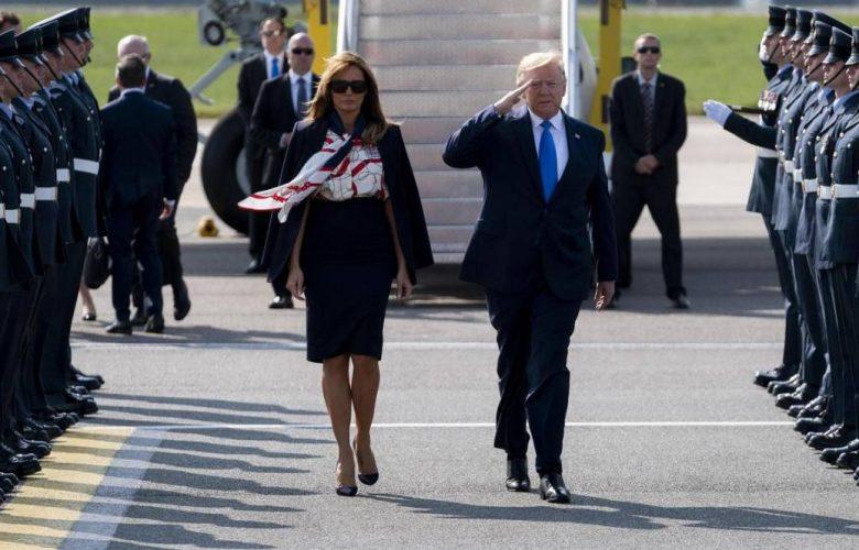 Trump a Londra